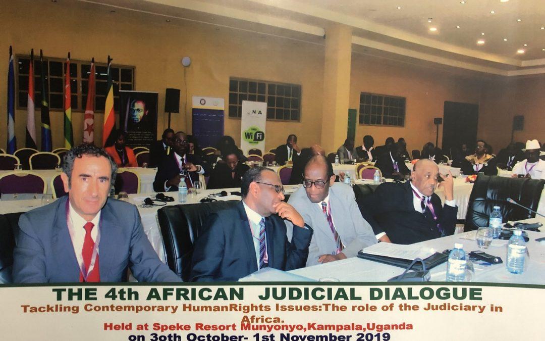 Fourth African Judicial Dialogue – Kampala, Uganda, 30 October/1st November 2019